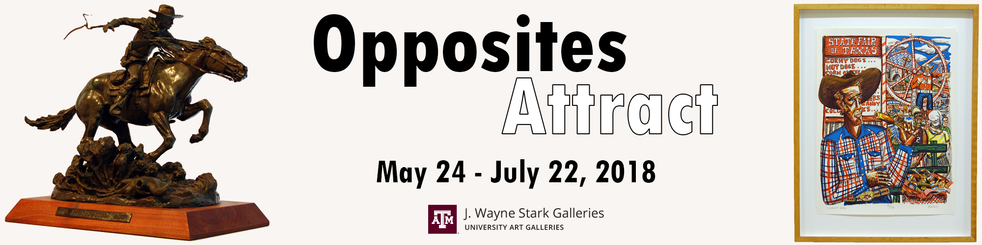 Opposites Attract Gallery Exhibition